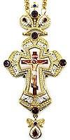 Крест наперсный с украшениями - А281а