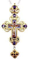 Крест наперсный с украшениями - А290а