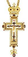 Крест наперсный с цепью - А294