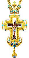 Крест наперсный с украшениями - A295-2