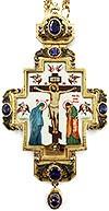 Крест наперсный с украшениями - А321