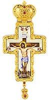 Крест наперсный с украшениями - А325б
