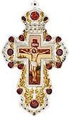 Крест наперсный с украшениями - А326с