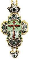 Крест наперсный с украшениями - А329а