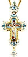 Крест наперсный с украшениями - А331а