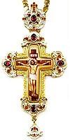 Крест наперсный с украшениями - А331в