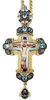 Крест наперсный с украшениями - А331