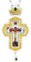 Крест наперсный с украшениями протоиерейский - A341-1