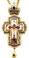 Крест наперсный с украшениями - A341-3