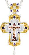 Крест наперсный с украшениями - A354-1