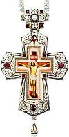 Крест наперсный с украшениями - A354-3