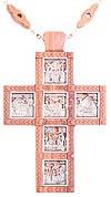 Наперсный наградной крест №130a (двусторонний)