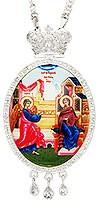 Панагия ювелирная - А312 серебрение)