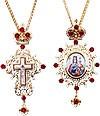 Набор для архиерея (крест и панагия) - 35