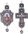 Набор для архиерея (крест и панагия) - 8