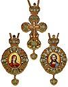 Набор для архиерея (крест и панагия) - 17