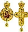 Набор для архиерея (крест и панагия) №15