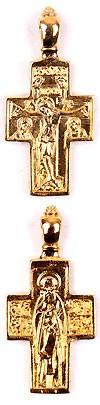 Православный нательный крест №109