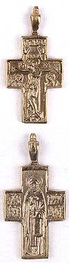 Православный нательный крест №220