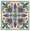 Цветочный узор-4