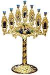 Церковный семисвечник №11