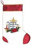 Рождественский чулок для подарков - 2