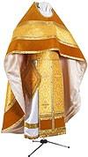 Иерейское русское облачение из парчи ПГ2 (жёлтый/золото)