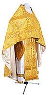 Иерейское русское облачение из шёлка Ш4 (жёлтый/золото)