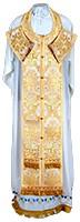 Требный комплект из парчи ПГ1 (белый/золото)