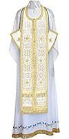 Требный комплект из шёлка Ш3 (белый/золото)