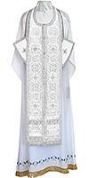 Требный комплект из шёлка Ш3 (белый/серебро)