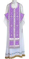 Требный комплект из шёлка Ш4 (фиолетовый/серебро)