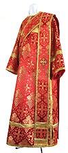 Дьяконское облачение из шёлка Ш2 (красный/золото)
