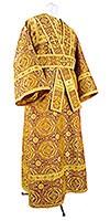 Иподьяконское облачение из парчи П (жёлтый-бордо/золото)