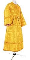 Иподьяконское облачение из парчи П (жёлтый/золото)