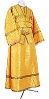 Иподьяконское облачение из парчи ПГ2 (жёлтый/золото)