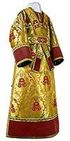 Иподьяконское облачение из парчи ПГ4 (жёлтый/золото)