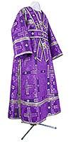 Иподьяконское облачение из шёлка Ш3 (фиолетовый/серебро)
