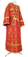 Иподьяконское облачение из шёлка Ш3 (красный/золото)