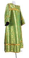 Стихарь клирика из парчи ПГ2 (зелёный/золото)