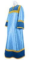 Стихарь детский из парчи ПГ2 (синий/золото)