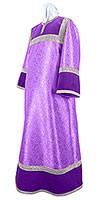 Стихарь детский из парчи ПГ3 (фиолетовый/серебро)