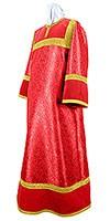 Стихарь детский из парчи ПГ3 (красный/золото)