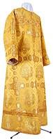 Стихарь алтарника из шёлка Ш4 (жёлтый/золото)