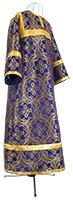 Стихарь детский из парчи ПГ1 (фиолетовый/золото)