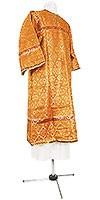 Стихарь детский из шёлка Ш4 (жёлтый/золото)