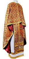 Греческое иерейское облачение из шёлка Ш3 (красный/золото)