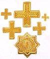 """Вышитые кресты """"Клин"""""""