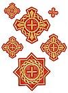 """Набор вышитых крестов """"Донец"""""""