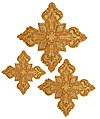 Кресты ручной вышивки №Д104